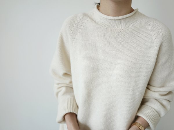 시어링 knit (2color)