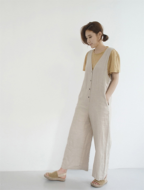 산토스 jump suit (2color)
