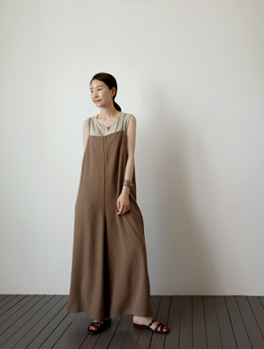 르주 jump suit (2color)