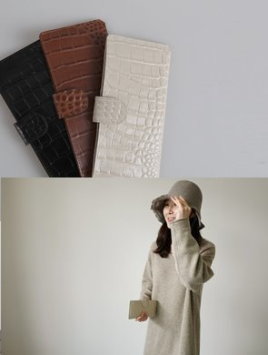 멜아인 wallet (3color)