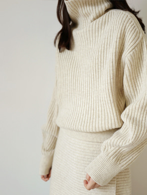 멜담 knit (2color)